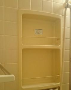 浴室小物置場