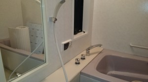 厚木浴室洗浄後1