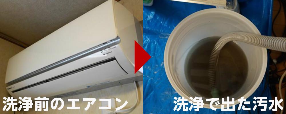 エアコン汚水